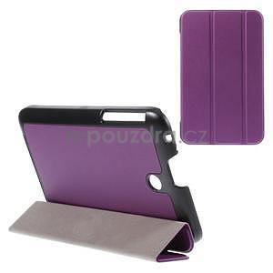 Supreme polohovatelné pouzdro na tablet Asus Memo Pad 7 ME176C - fialové - 1
