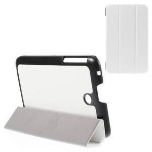 Supreme polohovatelné pouzdro na tablet Asus Memo Pad 7 ME176C - bílé - 1