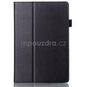 Koženkové pouzdro na tablet Lenovo A10-70 - černé - 1