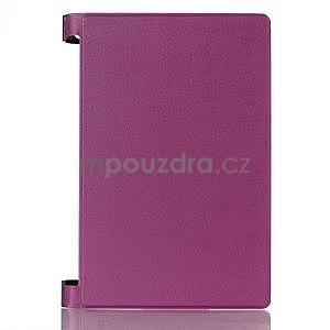 Koženkové pouzdro na Lenovo Yoga Tablet 2 8.0 - fialové - 1