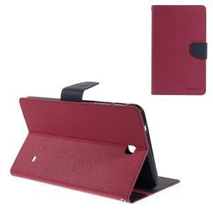 Rose peněženkové pouzdro Goospery na tablet Samsung Galaxy Tab 4 8.0 - 1