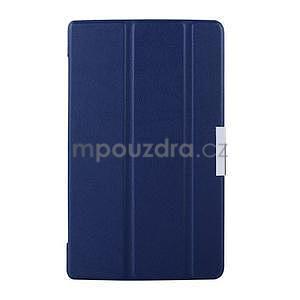 Tmavě modré pouzdro na tablet Lenovo S8-50 s funkcí stojánku - 1