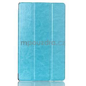 Světle modré pouzdro na tablet Lenovo S8-50 s funkcí stojánku - 1