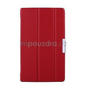 Červené pouzdro na tablet Lenovo S8-50 s funkcí stojánku - 1