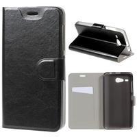 Horse peněženkové pouzdro na Acer Liquid Z520 - černé - 1/7