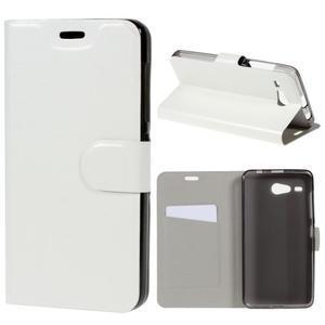 Horse peněženkové pouzdro na Acer Liquid Z520 - bílé - 1