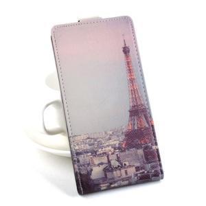 Flipové puzdro pre mobil Acer Liquid Z520 - Eiffelova veža - 1