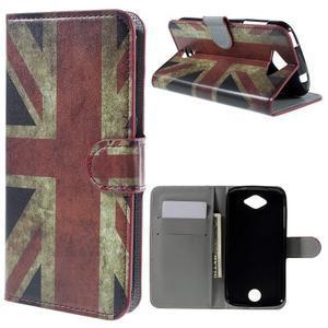 Valet peněženkové pouzdro na Acer Liquid Z530 - UK vlajka - 1