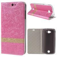 Klopové pouzdro na mobil Acer Liquid Z530 - rose - 1/6