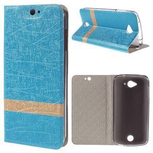 Klopové pouzdro na mobil Acer Liquid Z530 - modré - 1