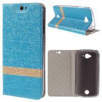 Klopové pouzdro na mobil Acer Liquid Z530 - modré - 1/7