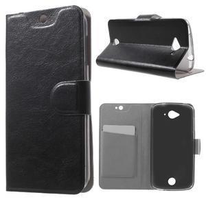 Horse peněženkové pouzdro na mobil Acer Liquid Z530 - černé - 1