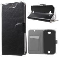 Horse peněženkové pouzdro na mobil Acer Liquid Z530 - černé - 1/7