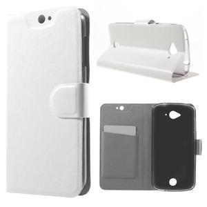 Horse peněženkové pouzdro na mobil Acer Liquid Z530 - bílé - 1