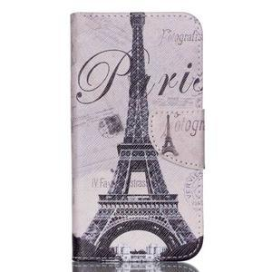 Luxy peněženkové pouzdro na Acer Liquid Z530 - Eiffelova věž - 1