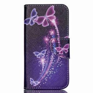 Luxy peněženkové pouzdro na Acer Liquid Z530 - kouzelní motýlci - 1