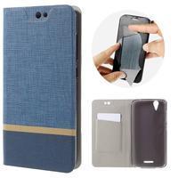 Klopové pouzdro na mobil Acer Liquid Z630 - modré - 1/7