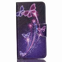 Peněženkové pouzdro na mobil Acer Liquid Z630 - kouzelní motýlci - 1/6