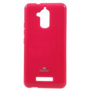 Jelly odolný gelový obal na Asus Zenfone 3 Max ZC520TL - rose - 1