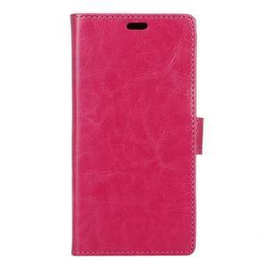 Wall knížkové pouzdro na mobil Asus Zenfone 3 Max ZC553KL - rose - 1