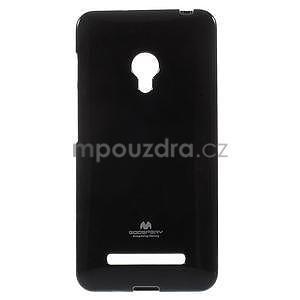 Černý gelový obal na Asus Zenfone 5 - 1