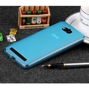 Matný gelový obal na Asus Zenfone Max - modrý - 1