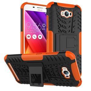 Outdoor odolný obal na Asus Zenfone Max - oranžový - 1