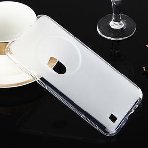Gelový matný obal na mobil Asus Zenfone Zoom - bílý - 1