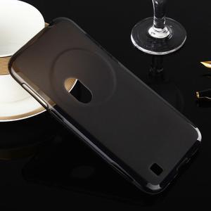 Gelový matný obal na mobil Asus Zenfone Zoom - šedý