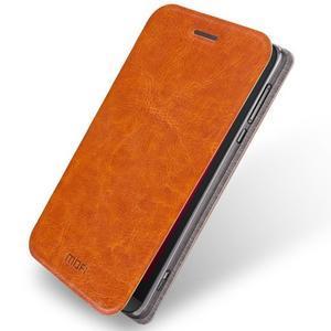 Moof klopové pouzdro na mobil Asus Zenfone Zoom - hnědé - 1