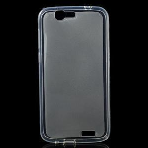 Gelový obal s matnými zády Huawei Ascend G7 - 1