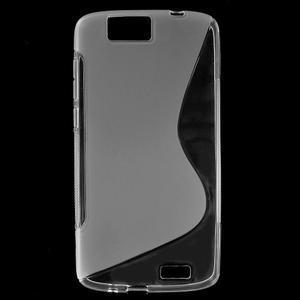 Gelový kryt S-line Huawei Ascend G7 - transparentní - 1