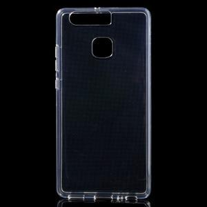 Transparentní gelový obal na mobil Huawei P9 - 1