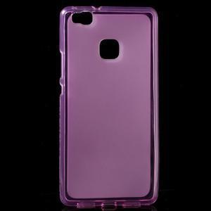 Matný gelový obal na mobil Huawei P9 lite - rose - 1