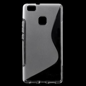 S-line gelový obal na mobil Huawei P9 Lite - transparentní - 1