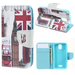 Peněženkové pouzdro na mobil Huawei Y3 a Y360 - United Kingdom - 1