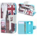 Peněženkové pouzdro na mobil Huawei Y3 a Y360 - United Kingdom - 1/7