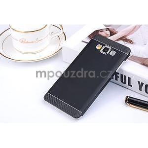 Černý kovový kryt na Samsung Galaxy A3 - 1