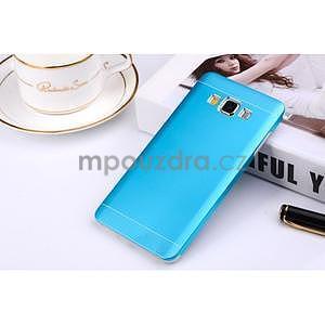 Modrý kovový kryt na Samsung Galaxy A3 - 1