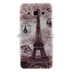 Gelový obal na Samsung Galaxy A3 - Eiffelova věž - 1