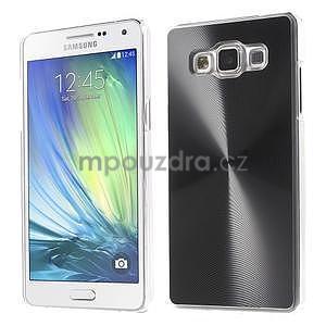 Černý metalický kryt na Samsung Galaxy A5 - 1
