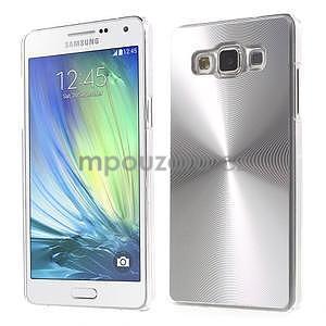 Stříbrný metalický kryt na Samsung Galaxy A5 - 1