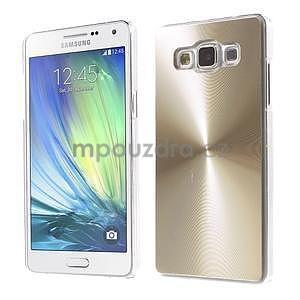 Zlatý metalický kryt na Samsung Galaxy A5 - 1