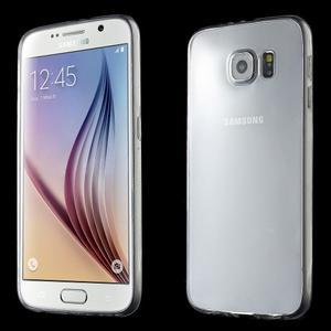 Ultra tenký obal na Samsung Galaxy S6 - transparentní - 1