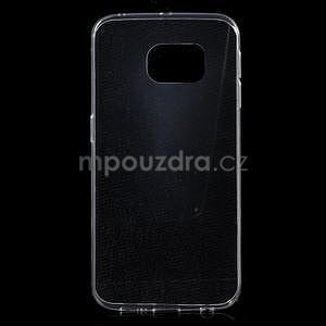 Transparentní ultra slim obal na Samsung Galaxy S6 Edge - 1