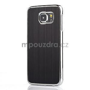 Černý hliníkový kryt s plastovými lemy na Samsung Galaxy S6