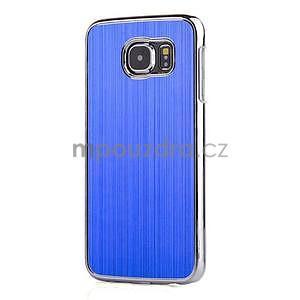 Modrý hliníkový kryt s plastovými lemy na Samsung Galaxy S6