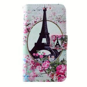 Peněženkové pouzdro na mobil Lenovo A319 - Eiffelova věž - 1