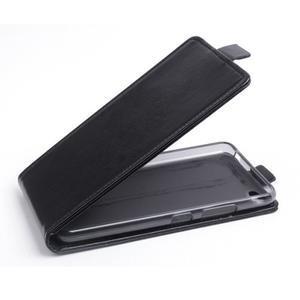 Flipové koženkové pouzdro na Lenovo S60 - černé - 1