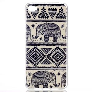 Glossy gelový obal na mobil Lenovo S90 - sloni - 1